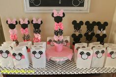 Salty Cinderella: Minnie Bow-tique Birthday Party