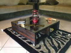 DIY Pallet Coffee Table with Silicon Wheels | 99 Pallets