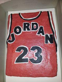 Cake It From Me: Jordan uniform birthday cake #jordancake