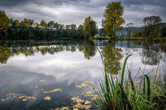 "Stormy day - ""dramatic"" lake"