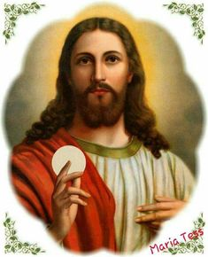jesus Christ with my photo please Religious Pictures, Jesus Pictures, Religious Icons, Miséricorde Divine, Divine Mercy, Vintage Holy Cards, Jesus Lives, Der Arm, Jesus Is Lord
