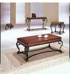 Furniture living room furniture on pinterest end for Coffee tables 18 inches wide