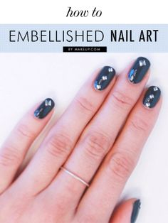 how to do embellished nail art