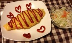 "Check out Shoko's cute Cooksnap of Da's Omurice recipe! She said that she'll ""definitely make this again^^"""