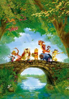 "Jigsaw Puzzles 1000 Pieces ""Winnie the Pooh"" / Disney / Toy&puzzle Winne The Pooh, Winnie The Pooh Friends, Disney Winnie The Pooh, Jigsaw Puzzles For Kids, 1000 Piece Jigsaw Puzzles, Victorian Cottage, Puzzle 1000, Puzzle Toys, Disney Toys"