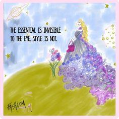 """COMIC DAY: A Little Fashion Story #4.  #fashion #fashcom #illustration #fashioncomic #comic #draw #drawing #dress #shoes #magic #glitter #princess #heels…"""