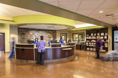 Cleveland Road Animal Hospital and The Pet Hotel, Wooster, Ohio - 2014 #Veterinary Economics Hospital Design Supplement - Reception desk - dvm360
