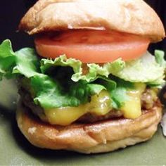 Juiciest Hamburgers Ever- tried this recipe for a family cook out and everyone loved them so it's a keeper!