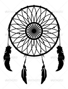 Dreamcatcher Vector — Vector EPS #twicolabs #dream • Available here → https://graphicriver.net/item/dreamcatcher-vector/5388647?ref=pxcr
