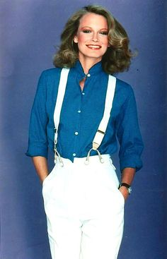 Shelley Hack as Tiffany Welles in season four of Charlie's Angels.