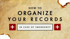 Here's a step-by-step guide to organizing your vital information so it can be conveniently and safely accessed when needed. How to Create an In-Case-of-Emergency Everything Document to Keep Your Loved Ones Informed if Worst Comes to Worst
