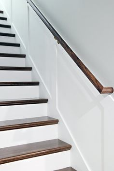 How to add tread and new risers to a staircase stair kit from home this dramatic staircase makeover will cause you to do a double take solutioingenieria Gallery