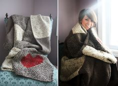 Martha Stewart Knit and Weave Loom Kit - Blanket FINISHED!! So relieved. #loom #martha_stewart #blanket