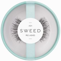 Sweed Lashes Ash ($19) ❤ liked on Polyvore featuring beauty products, makeup, eye makeup, false eyelashes, black, hygiene and womens-fashion