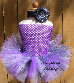 Purple and black Zebra tutu -  Baby - Infant/Toddler  newborn- adult Tutu dress…