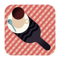 Aron Vellekoop León   Illustration - Wall Street Journal - Hot chocolate