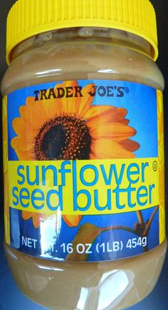 Trader Joe's Sunflower Seed Butter.  I have heard mixed reviews about this being an issue for soy-sensitive people. It has no cross-contamination warning and I have personally contacted Trader Joe's and have been told there is no cross-contamination.   It's a good $2 cheaper than Sunbutter here. http://www.whatsgoodattraderjoes.com/2014/02/trader-joes-sunflower-seed-butter.html