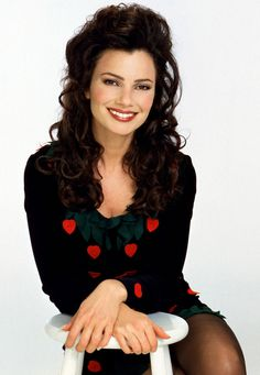 Fran Drescher.  Funny and adorable.  Loved her on The Nanny and now on Happily Divorced.  I also read her books.
