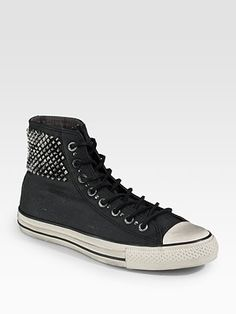Converse by John Varvatos Studded Canvas High-Tops $200.00 @Saks Fifth Avenue