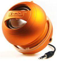 X-Mi X Mini II 2nd Generation Capsule iPhone / iPad 2 3 / iPod / MP3 / Laptop Speaker - Orange