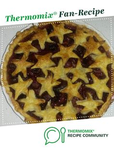 Recipe Christmas Cherry Pie by AoifesBigThermieAdventure, learn to make this recipe easily in your kitchen machine and discover other Thermomix recipes in Baking - sweet. Food N, Food And Drink, Thermomix Desserts, Sweet Pastries, Recipe Community, Curries, Sweet Recipes, Brownies, Cherry