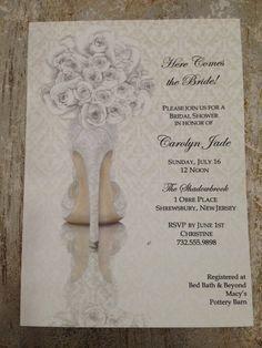 Bridal shower invitations shoe theme bridal shower bridal shower bridal shower invitations shoe theme bridal by knotjustweddings 1950 filmwisefo