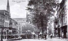 Hoge Gouwe en Lage Gouwe Gouda, Holland, Street View, Historia, The Nederlands, The Netherlands, Netherlands