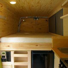 Sprinter Van Conversion Layout 41
