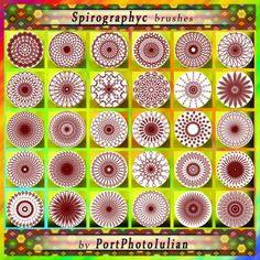 Spirography-photoshop-Flower-brushes