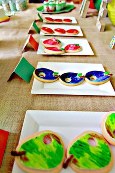 The Very Hungry Caterpillar Party ideas!