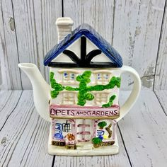 Medium Size Collectable Collectors Novelty Pets And Gardens Tea Pot Display Item Elephant Teapot, Novelty Clocks, Cleaning Fun, Old Mother Hubbard, Building Society, Leonardo Collection, Indian Elephant, Ceramic Teapots, The Collector
