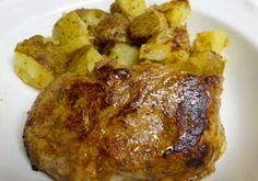 Balsamic and Honey Gluten Free Pork Loin and Potatoes