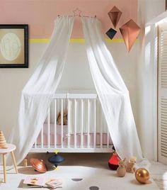 Ciel de lit #chambre #bébé #babyspace www.vertbaudet.fr - Collection ...