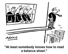 financial cartoons | Having a Finance Director can provide your business with years of in ...