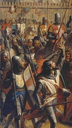 Durante o reinado de Balduíno IV, o sultão Saladino sofreu uma derrota desastrosa em Montgisard em 1177; uma derrota decisiva em Le Forbelet em 1182; sua marinha recém-formada não causou problemas sérios aos Francos; e quando ele tentou capturar Beirute por uma operação conjunta por terra e mar, ele foi expulso.