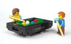 Everybody plays pool, Lego knows it.
