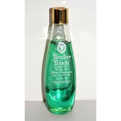 Vintage Tender Touch Bath Oil By Helen Curtis