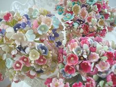 Millinery Flowers - Forget Me Nots