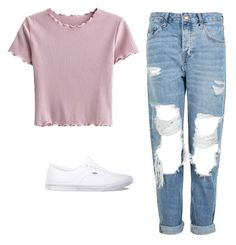 """Untitled #87"" by mayaali on Polyvore featuring Topshop and Vans"