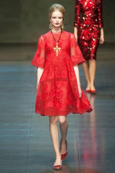 Dolce & Gabbana Fall 2013 RTW Collection - Fashion on TheCut