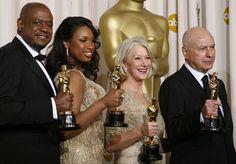2007 Academy Award Winners: Forrest Whitaker, Jennifer Hudson, Helen Mirren and Alan Arkin