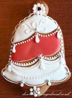 Handmade Christmas gingerbread decoration