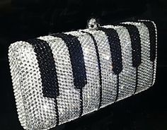 Keyboard hand bag/clutch/purse