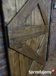 Znalezione obrazy dla zapytania drzwi drewniane na rolkach