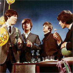 Paul McCartney, John Lennon, Richard Starkey, and George Harrison | THE BEATLES