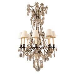 Bagues Style French Chandelier