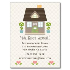 37 best moving cards images new address announcement new house