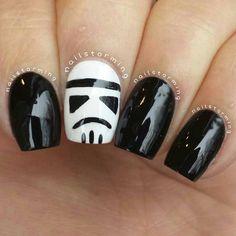 star wars by nailstorming #nail #nails #nailart