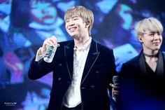 Rap Monster❤ BTS at the Geumsan County One Heart Concert / Nonsan Youth Winter Concert (161222) #BTS #방탄소년단