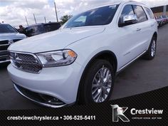 New 2015 Dodge Durango Citadel AWD Sport Utility with DVD, navigation. Learn more: http://www.crestviewchrysler.ca/inventory/2015-dodge-durango-citadel-awd-w-dvd-navigation-awd-sport-utility-1c4rdjeg4fc825828 | Crestview Chrysler Dodge Jeep Ram